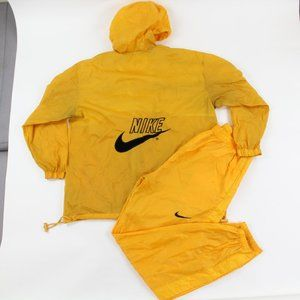 Men's Vntg 90s Nike Running Windbreaker Pants Suit